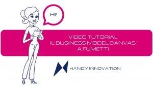 Business Model Canvas a fumetti video tutorial italiano